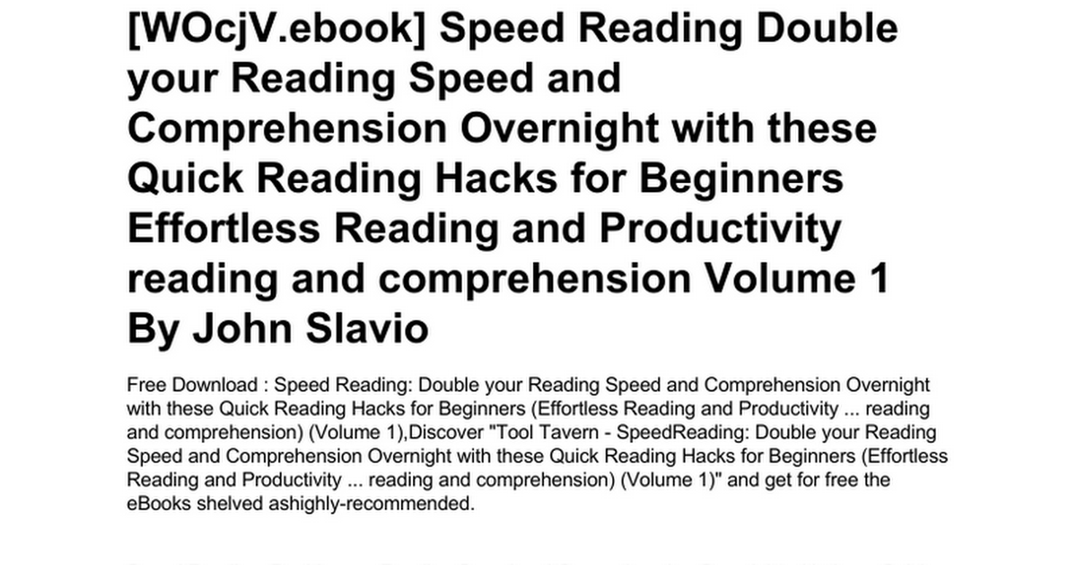 speed-reading-double-your-reading-speed-and-comprehension-overnight