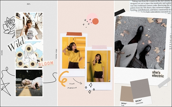 Nichi - Learn How to Make the Most Amazing Photo Collages and Stories