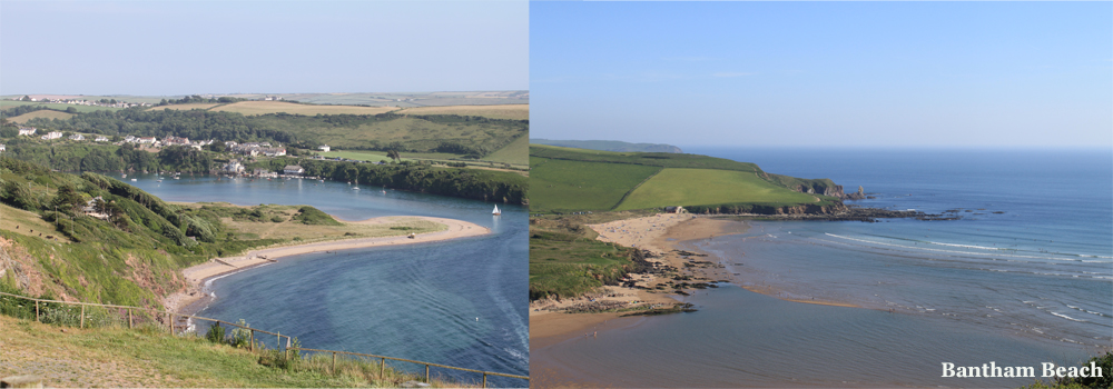 South Devon has some fantastic beaches to explore which can be accessed along The South West Coast Path.
