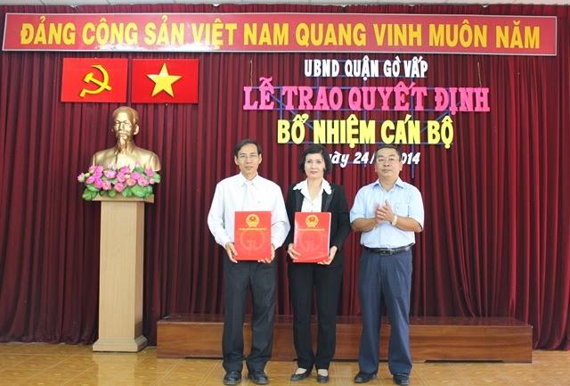 Đồng chí Đặng Thanh Tuấn tiếp tục giữ chức vụ Trưởng phòng Giáo dục và Đào tạo