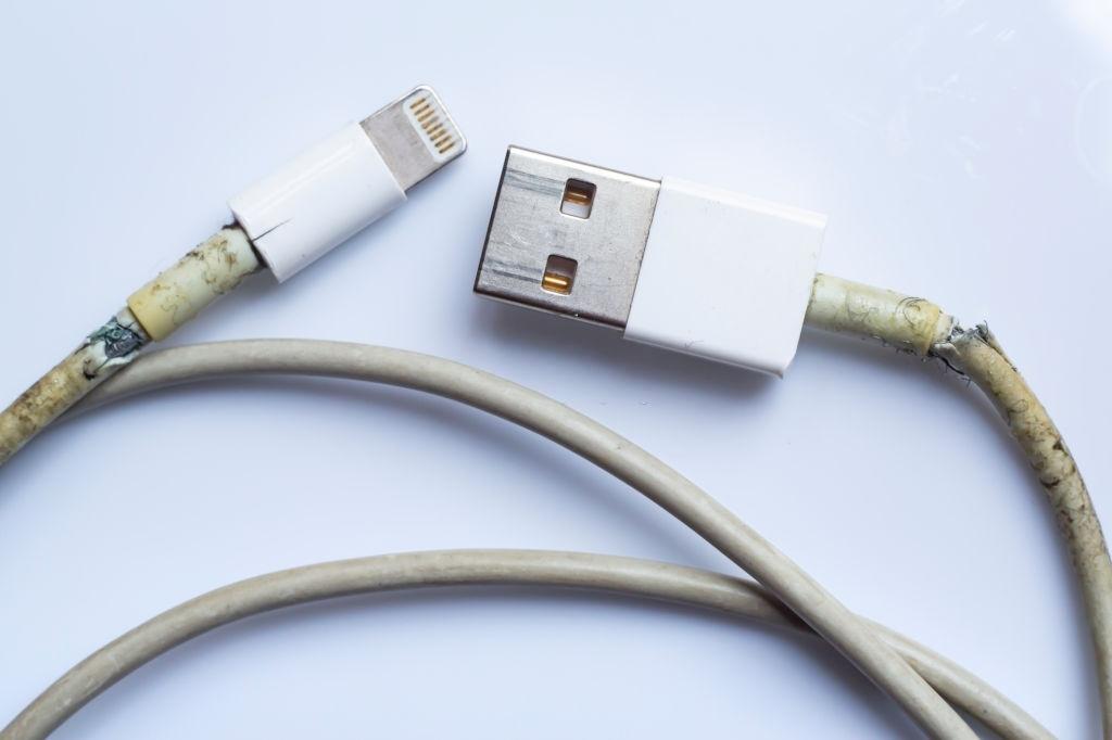 usb debugging damaged USB cable