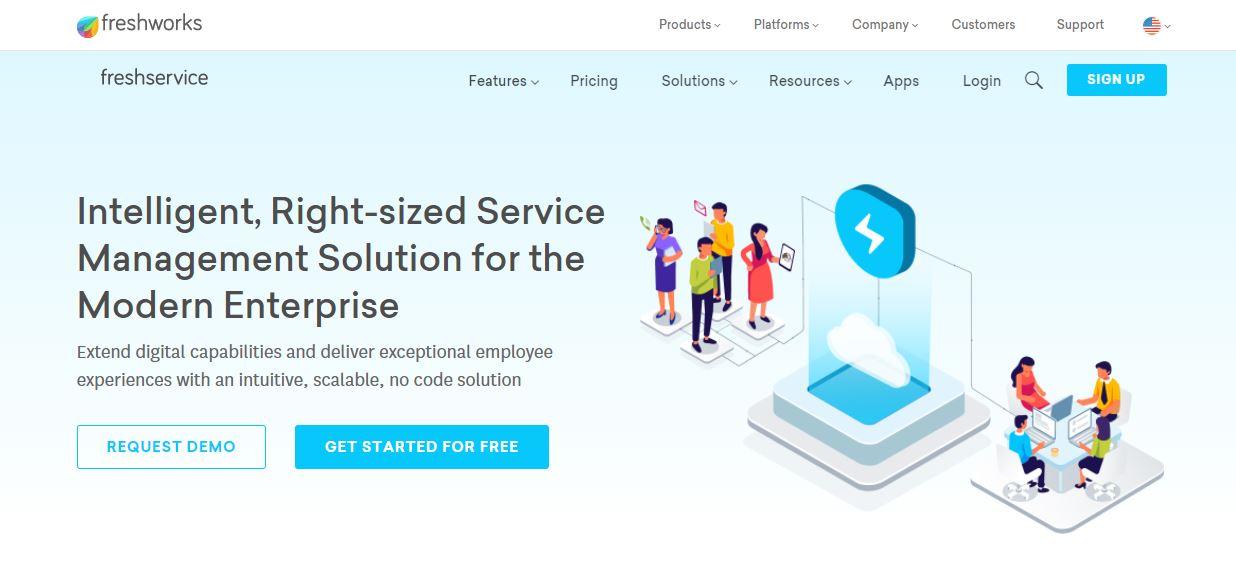 Freshservice IT Asset Management Software