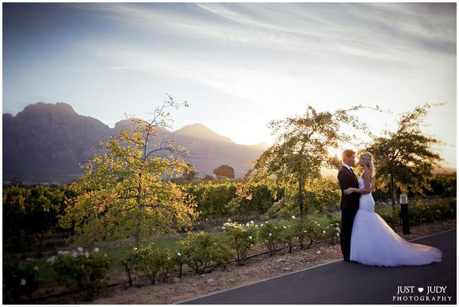 Elegant Black & White Allée Bleue Wedding, South Africa 5