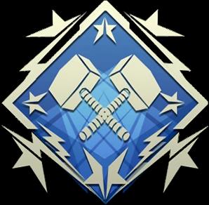 4K damage  badge