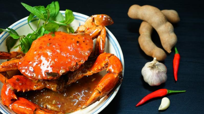 Cua biển quán - một trong những nhà hàng Đà Nẵng nổi bật với nhiều món cua ngon