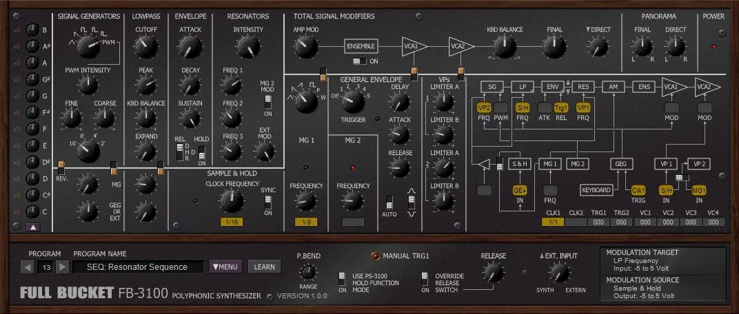 FB-3100 free vst synth