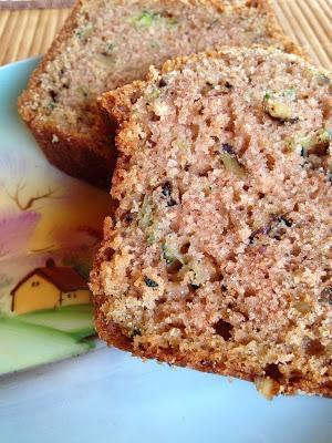 sourdough zucchini nut bread