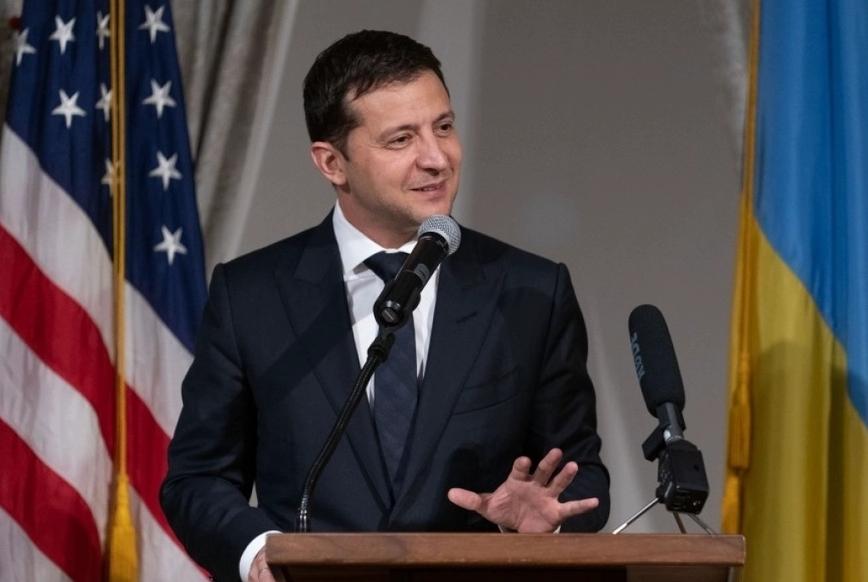 «Я хотів би побудувати Голлівуд в Україні. Я вважаю, що це круто» (фото: president.gov.ua)