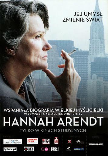 Przód ulotki filmu 'Hannah Arendt'