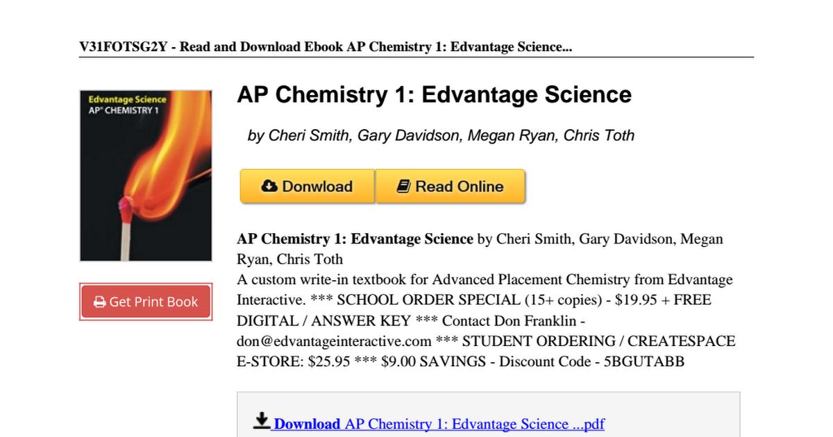 Ap chemistry 1 edvantage science 1927928478pdf google drive fandeluxe Gallery