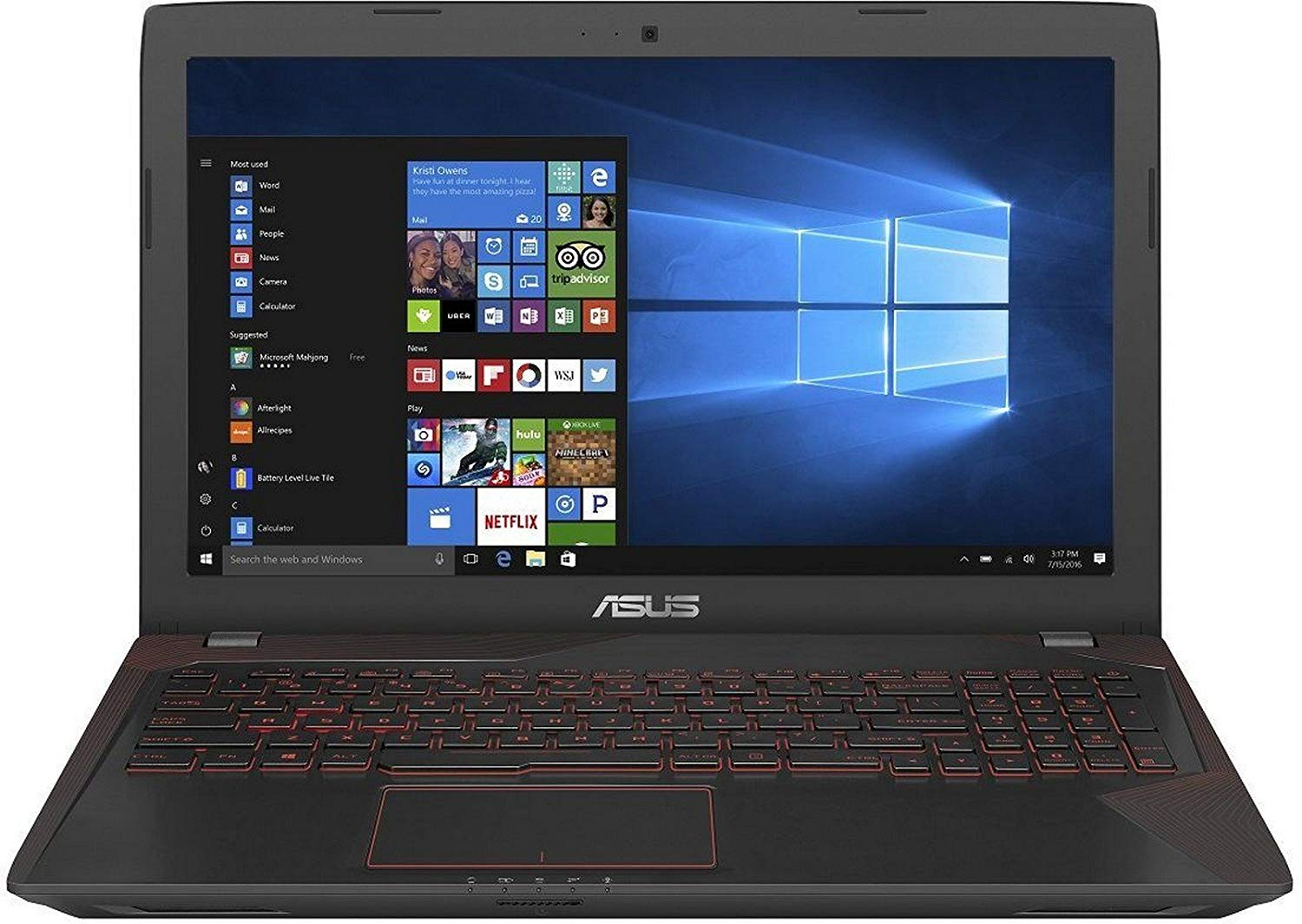 Asus FX553VD-DM1031T 15.6-inch Laptop