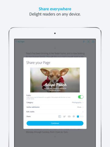 iOS Adobe Spark, ios.freepps.top
