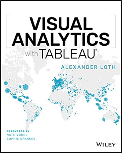Visual Analytics with Tableau book cover