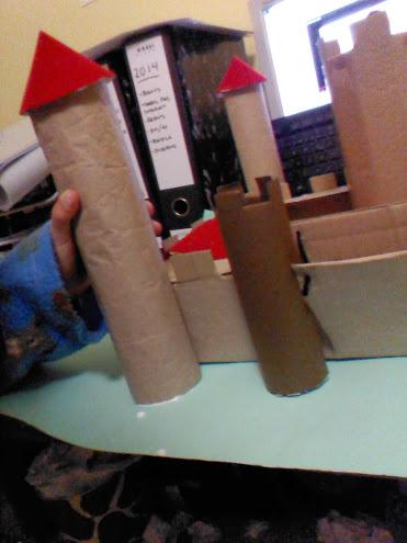 Colocamos las torres en su lugar.