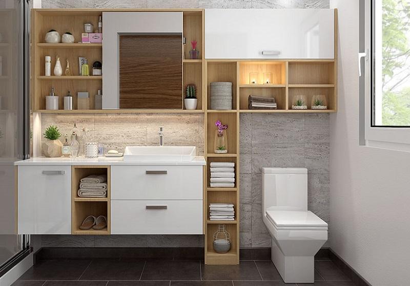 Sơn hiệu ứng Waldo-Sản phẩm gỗ công nghiệp cho nhà vệ sinh