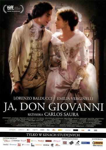 Przód ulotki filmu 'Ja, Don Giovanni'