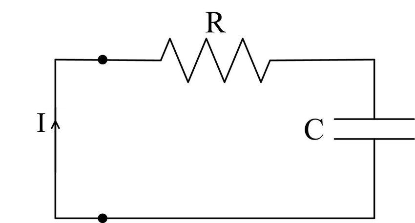 A simple RC circuit. | Download Scientific Diagram