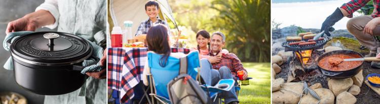 Cocina al aire libre en el Día del Padre
