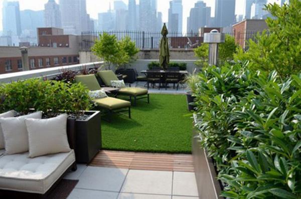 Thiết kế sân vườn sân thượng và những lưu ý cần biết