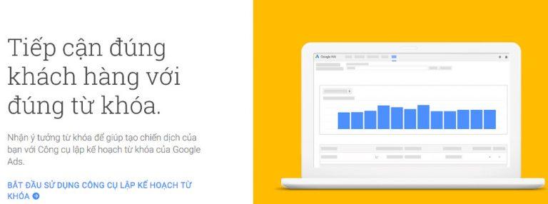 Keyword Planner - Một công cụ đảm bảo hữu ích nhất