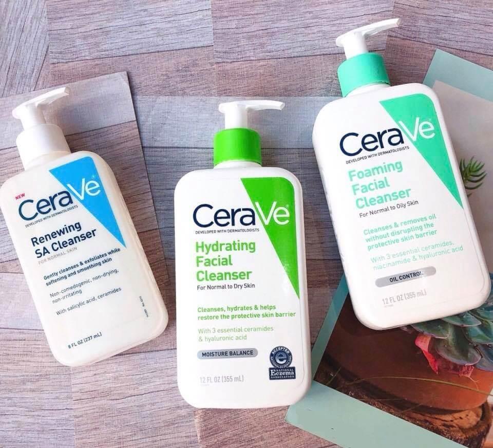 Sữa rửa mặt Cerave mang tới những điều kỳ diệu nhất cho từng làn da