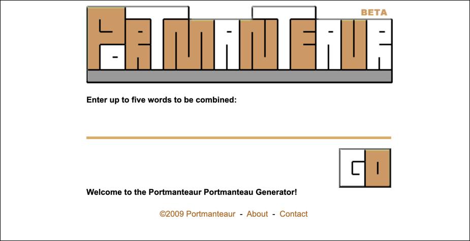 Portmanteau for a fun blog name