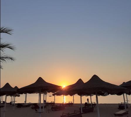 شاطئ فندق اميجو العين السخنة