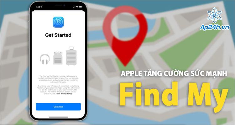 Cập nhật Find My - Ứng dụng định vị của Apple