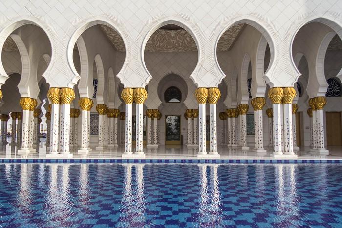Sheikh Zayed - Thánh đường trắng tuyệt đẹp ở Abu Dhabi - Ảnh 5.