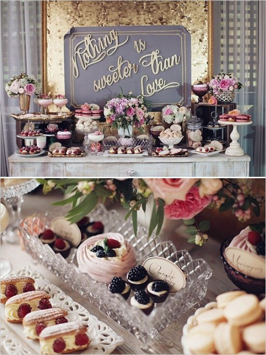 6 Easy Steps To Create Your Own Dessert Table - Weddings & Events ...
