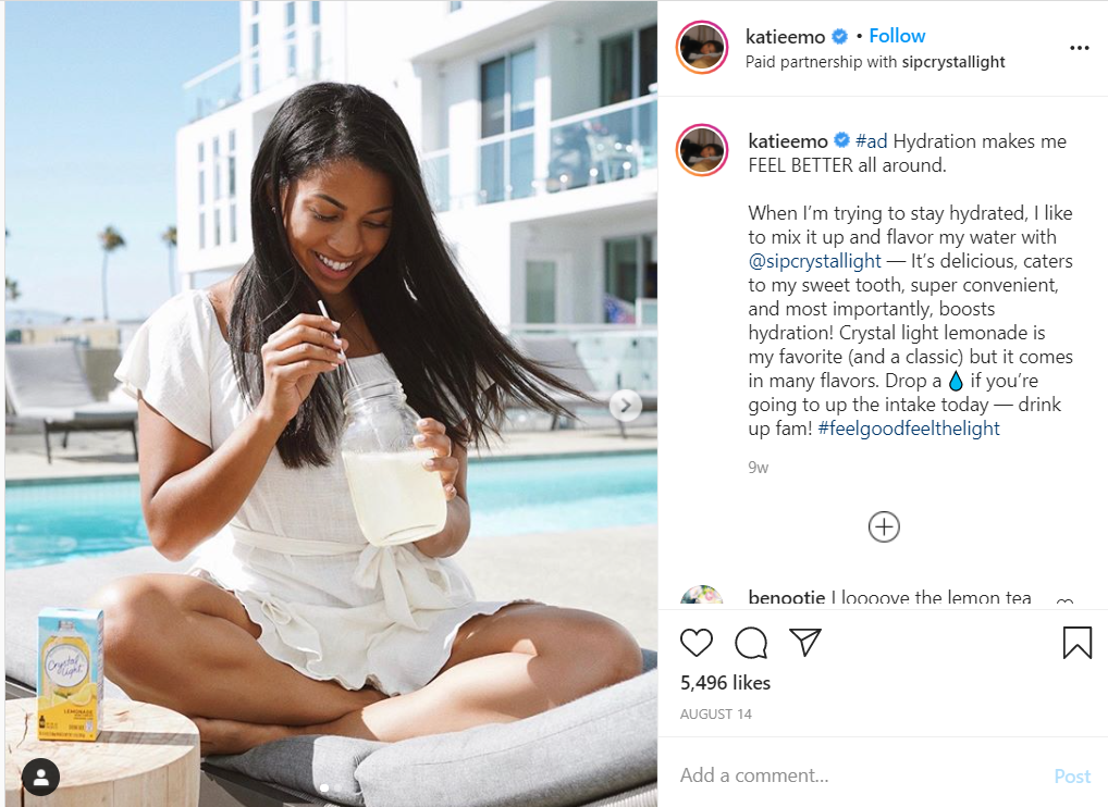 Building a relationship with an influencer