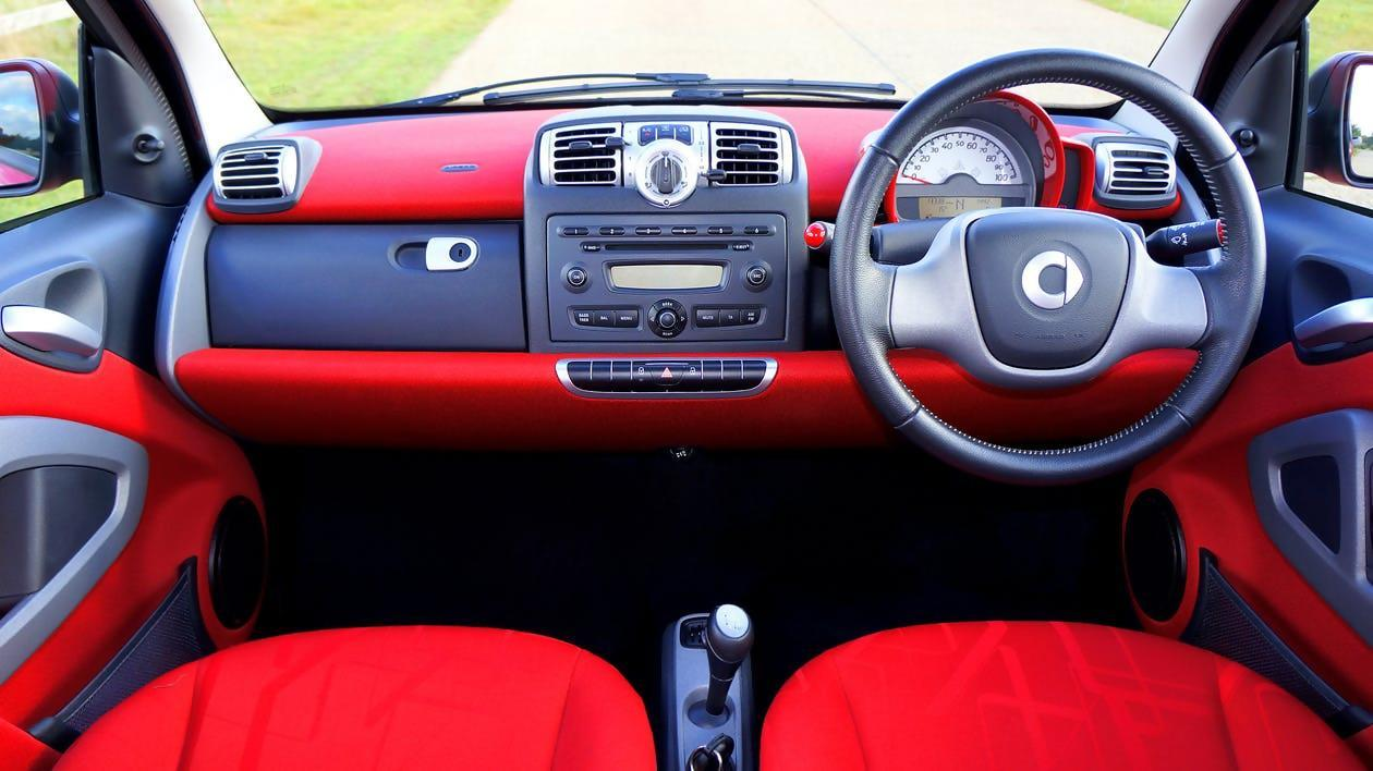 Red Car Dashboard
