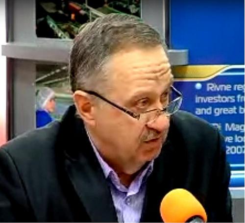 Перший заступник директора обласного департаменту соцзахисту, якого підозрюють у хабарництві. Фото з сайту rivnepost.rv.ua