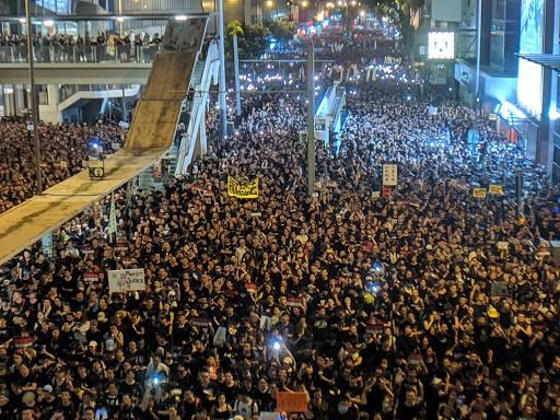 領導台灣目前罷工的工會也積極支持香港近期的抗爭運動。//圖片來源:Flickr,Studio Incendo