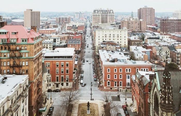 Mount Vernon is an affluent neighborhood in Baltimore.