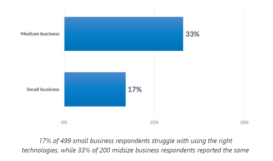 Small Business Vs Medium Business - biggest small business challenges