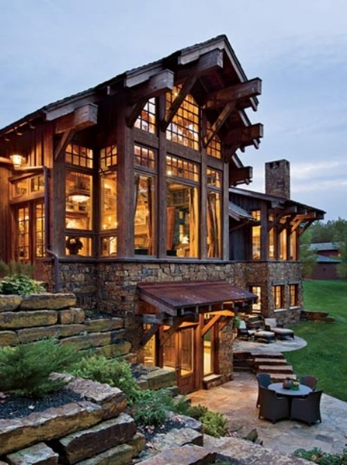 Amazing log cabins for Amazing dream houses