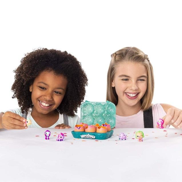HATCHIMALS COLLEGGTIBLES HATCH AND SEEK 6-PACK EGG CARTON WITH HATCHIMALS COLLEGGTIBLES, FOR AGES 5 & UP