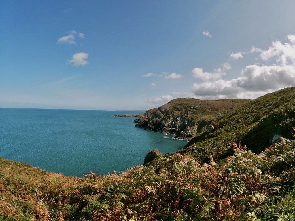 part of the Pembrokeshire coastal path route