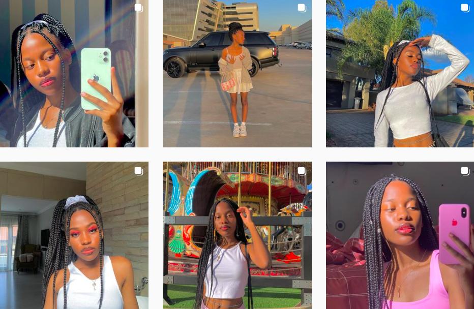 Tendani Nemudivhiso   South African Teenager   Influencers on Social Media