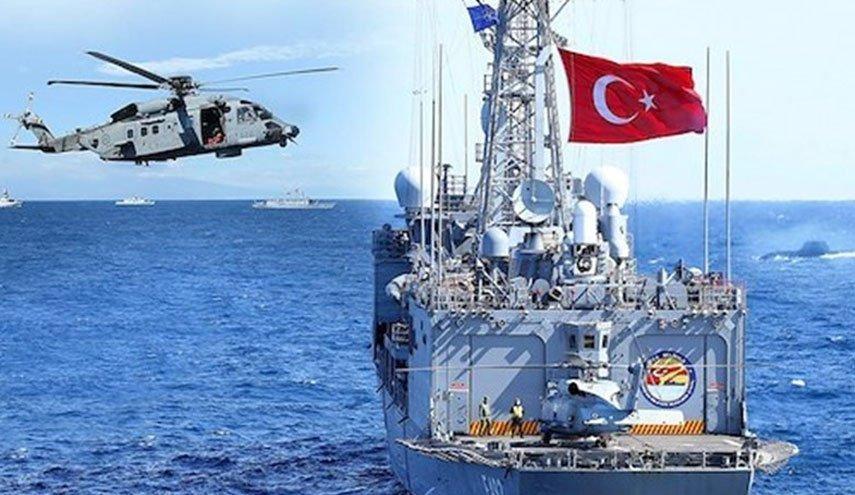 ترکیه رزمایش «دعوت» را در شرق مدیترانه آغاز کرد/ شرکت بزرگترین ناو آمفیبی  جهان ساخت ترکیه در رزمایش - شبکه خبری العالم