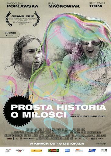 Przód ulotki filmu 'Prosta Historia O Miłości'