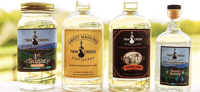 Virginia Moonshine And More From Twin Creeks Distillery
