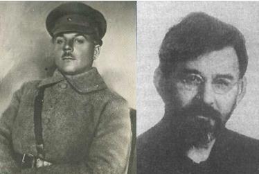 Они подавляли Куреневское восстание: К. Е. Ворошилов, Г. И. Петровский