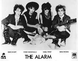 The Alarm with 'Dallas' - Photographed by Ed Colver