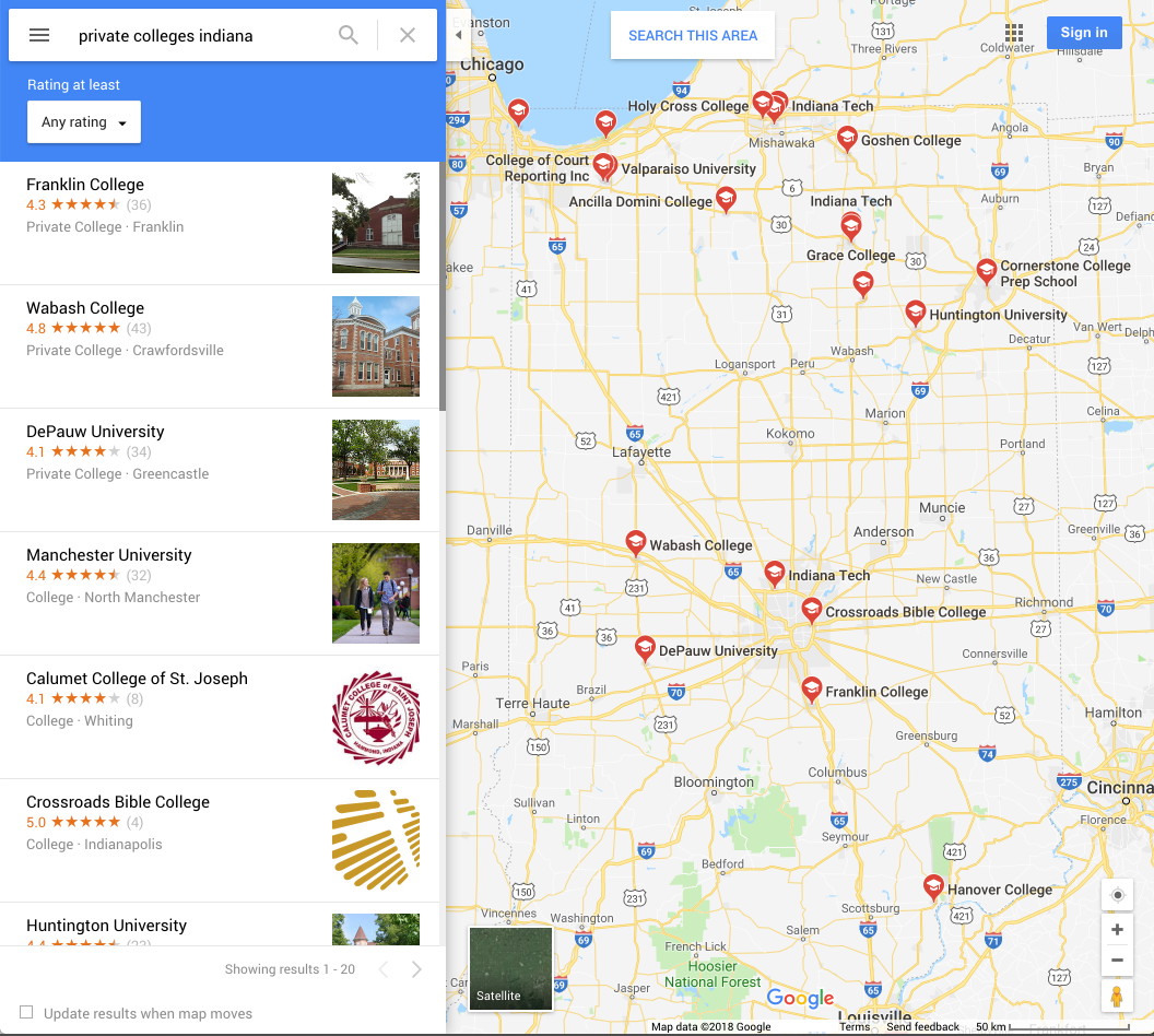 How to Publish a Free Virtual Campus Tour via Google Maps