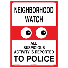 Image result for images for neighborhood watch
