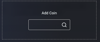 Add coin to your watchlist