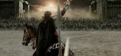 Image result for lord of the rings final battle