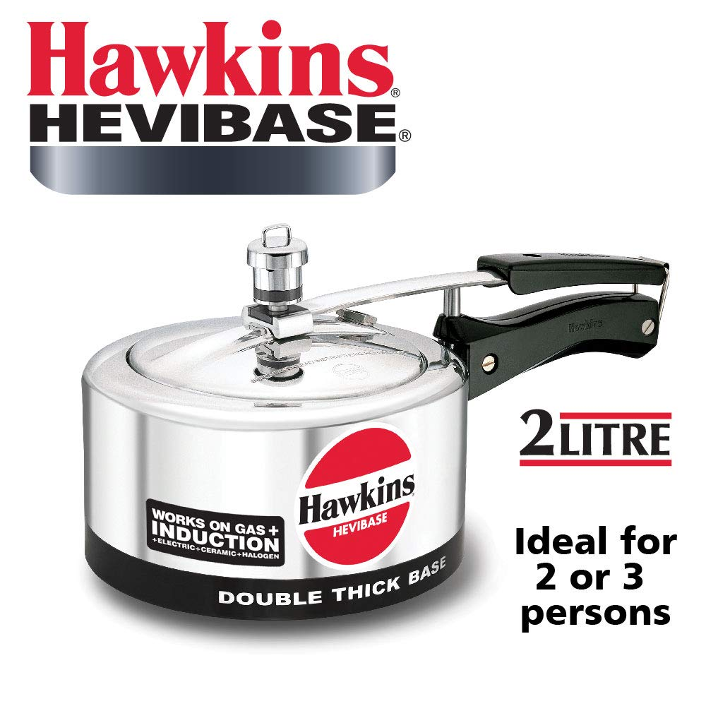 Hawkins Hevibase Aluminum Induction Model Pressure Cooker
